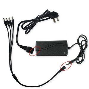 Netcam-overvåkning-strømforsyning-med-splittkabel