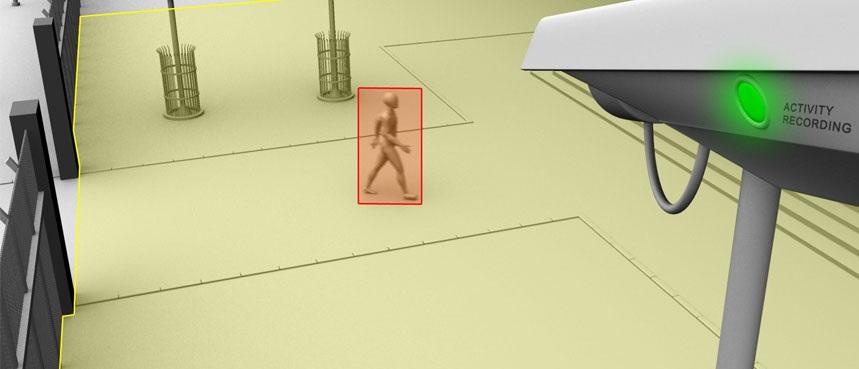 Netcam-bevegelsesdeteksjon-3 DVR-opptakere