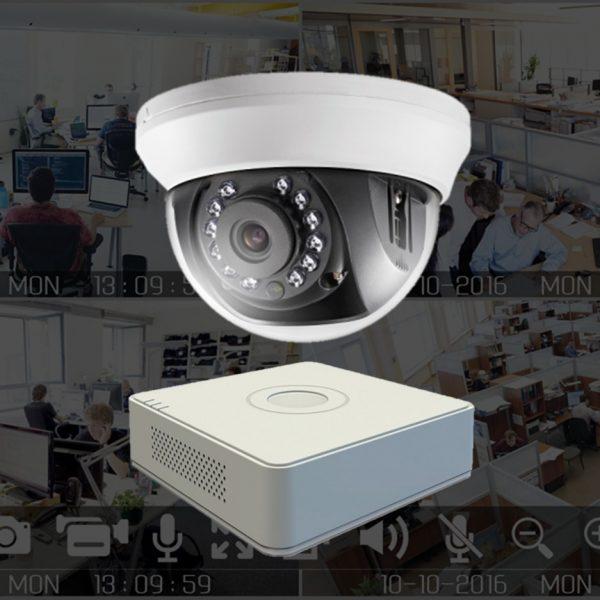 Netcam 1MB dome-pakke