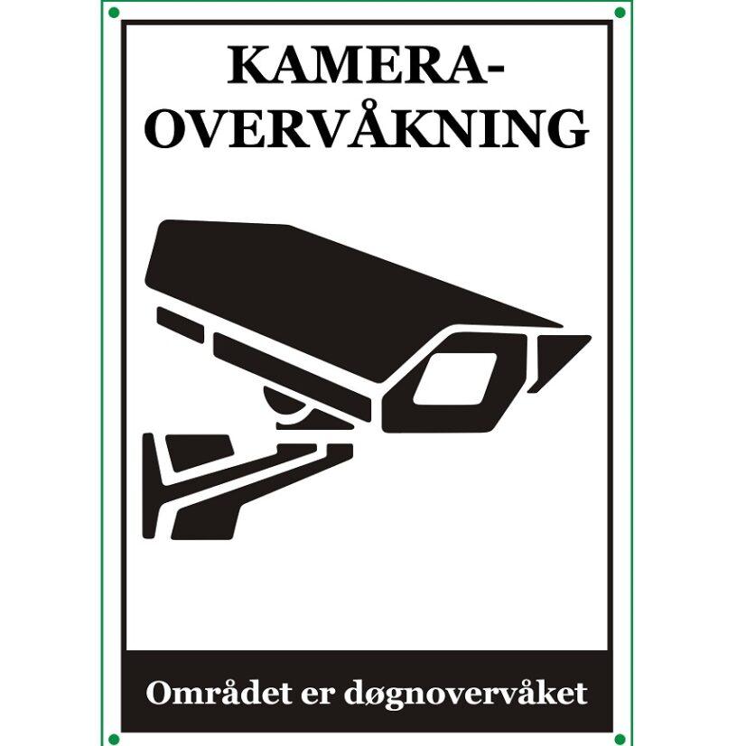 Netcam kameraskilt overvåkning