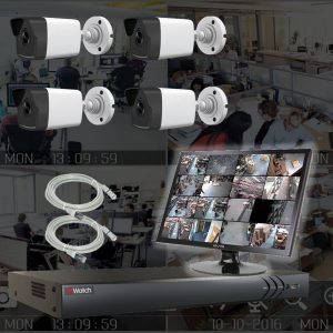 Netcam Kamera Pakke 2MP HIPX21-4