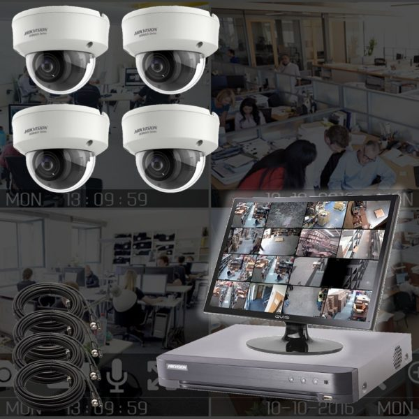 Netcam 2MP motorzoom dome kamera pakke HWT-D323-Z-4