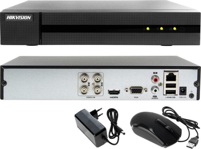 Netcam Hikvision HiWatdch DVR HWD-7104MH-G2 bakside
