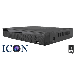 Netcam Icon 4 HD-SDI kameraer DVR-opptaker 1TB 4MP