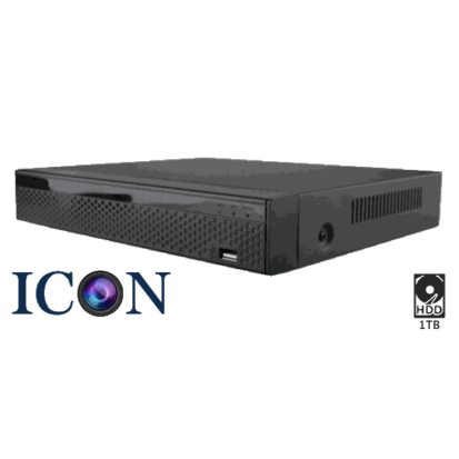 Netcam Icon 4 HD-SDI kameraer DVR-opptaker 1TB 4MP