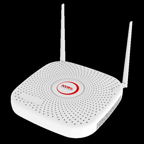 Netcam trådløs Wi Fi NVR for kamera pakke
