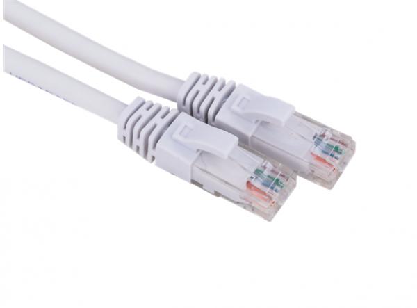 Netcam nettverkskabel UTP Cat6 RJ45 hvit