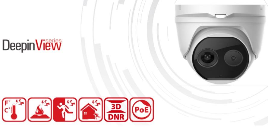 Netcam Hikvision termisk kamera DS-2TD1217-2-V1