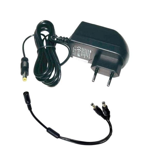Netcam strømforsyning 12v 2A