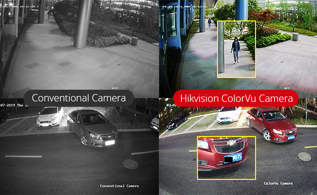 Netcam Hikvision ColorVu eksempel