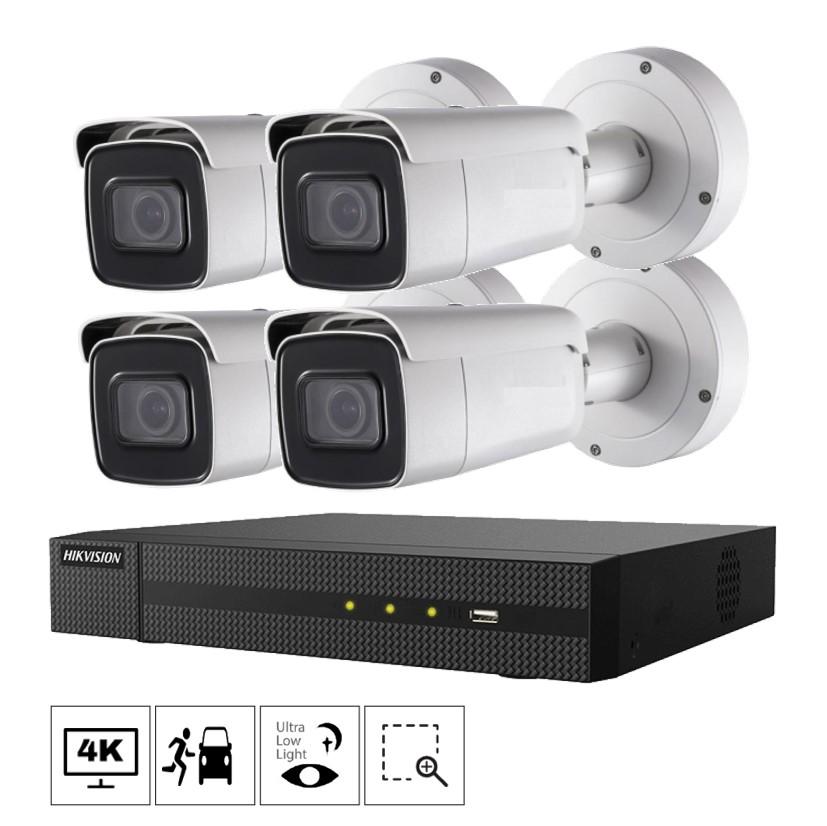 Netcam Hikvision kamera 2686G2-4 pakke 4K zoom