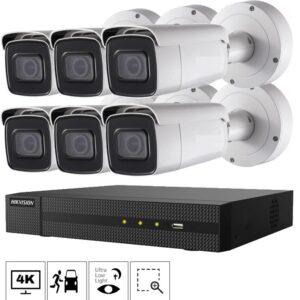 Netcam Hikvision kamera 2686G2-6 pakke 4K zoom