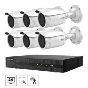 Netcam Hikvision kamera B640H-6 pakke 4MP zoom