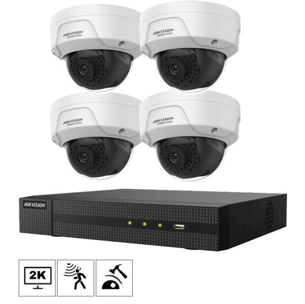 Netcam Hikvision kamera D140H-M-4 pakke 4MP