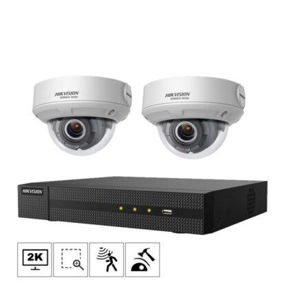 Netcam Hikvision kamera D640H-2 pakke 4MP zoom