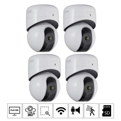 Netcam Hikvision trådløs kameraovervåkning pk-Ds-i22q-4