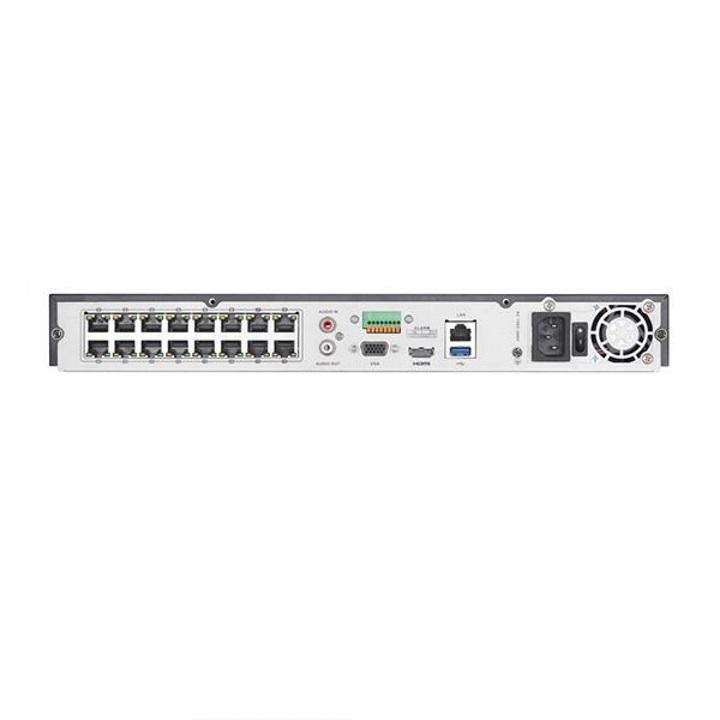 Netcam Hikvision DS-7616NI-I2-16P bakside