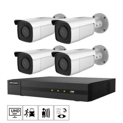 Netcam Hikvision kameraovervåkning PK-DS-2CD2T86G2-2I-4