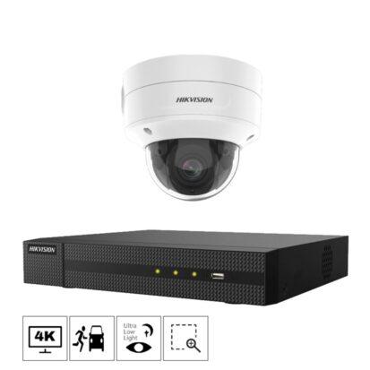 Netcam Hikvision kamera pakke Acusense 4K 8MP zoom 2786G2-1