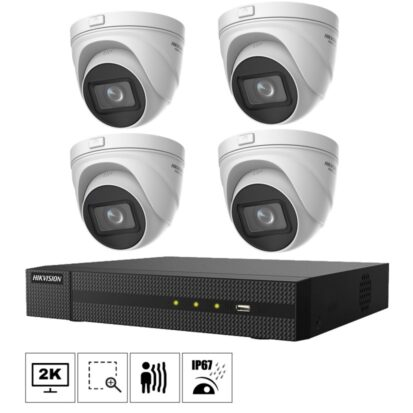 Netcam Hikvision kamera pakke 4MP zoom T641H-Z-4